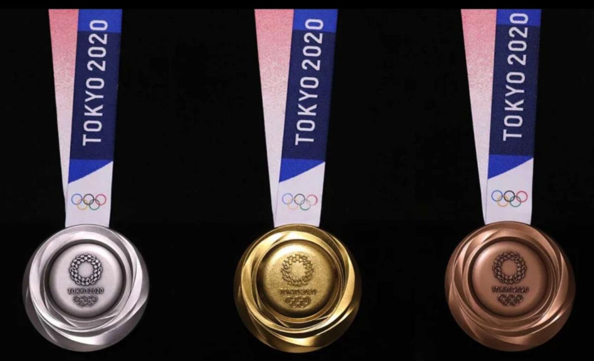 2020 Tokyo Olimpiyatları madalyaları