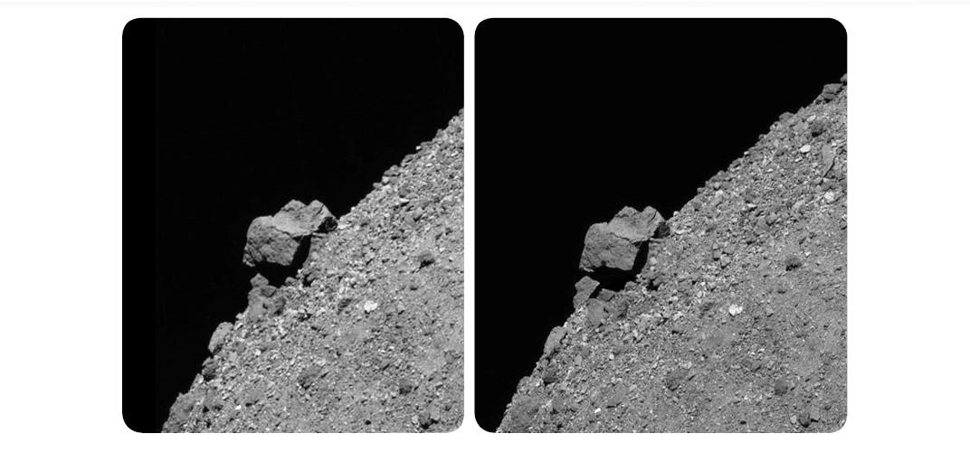 Bennu Asteroidi