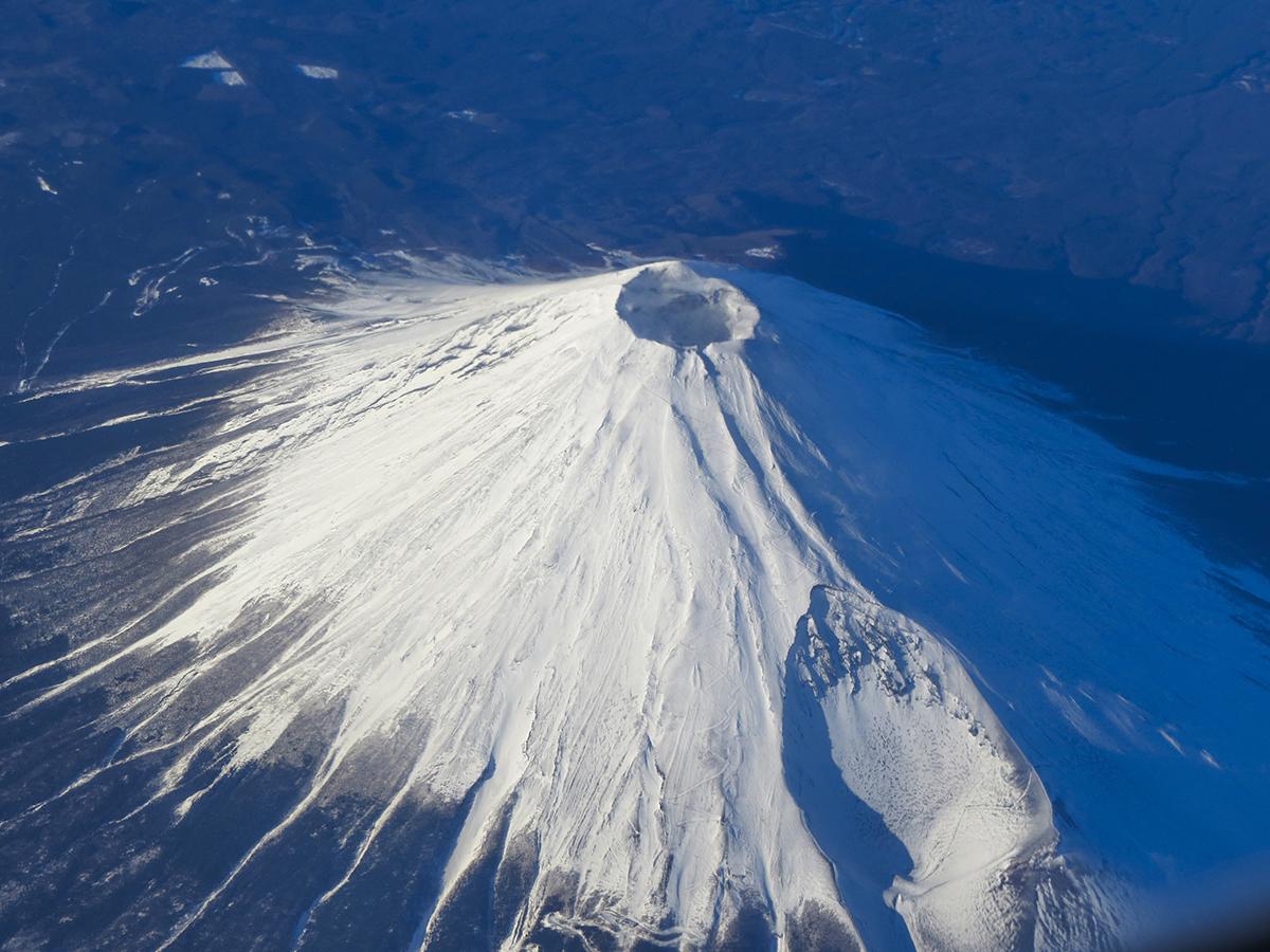 Japonya'daki Fuji Yanardağı