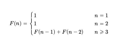 Fibonacci dizisinin matematiksel gösterimi