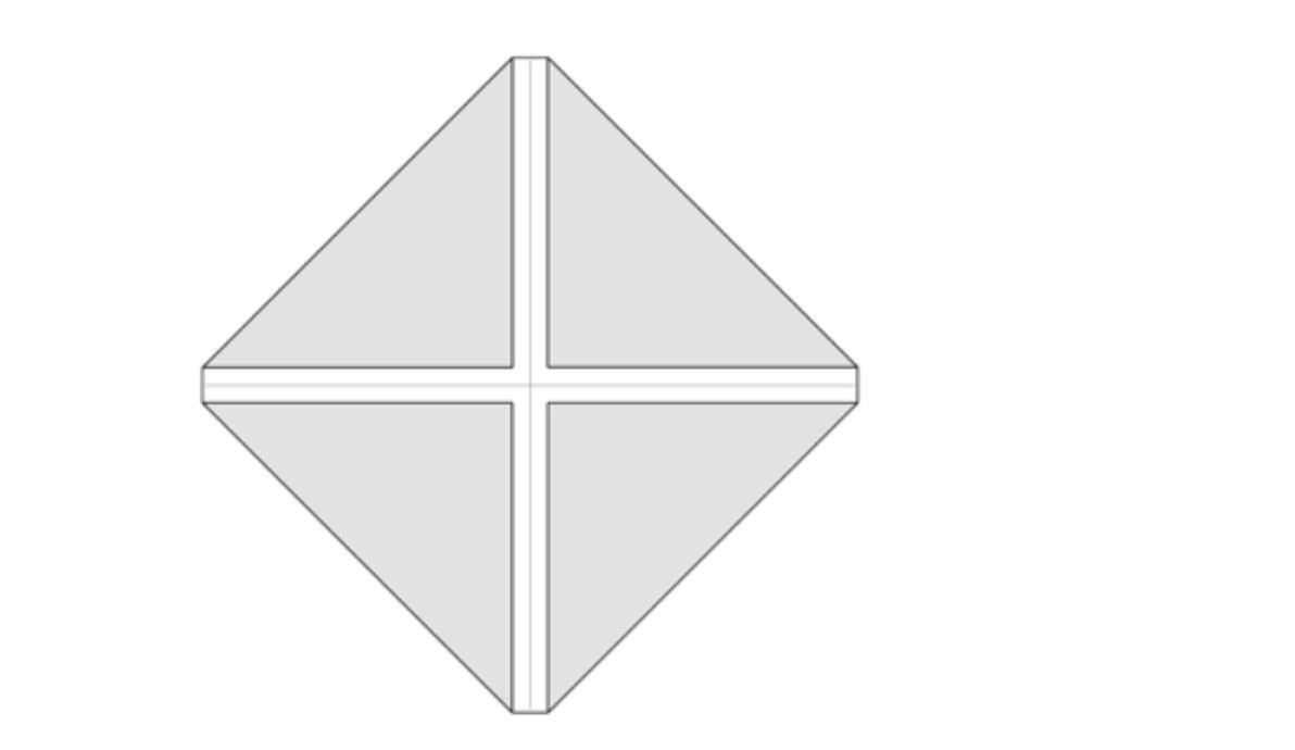 origami pratik kap