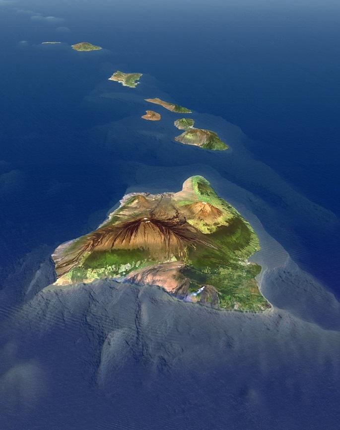 Mauna Kea dağı dünyanın en yüksek dağı en büyük dağı
