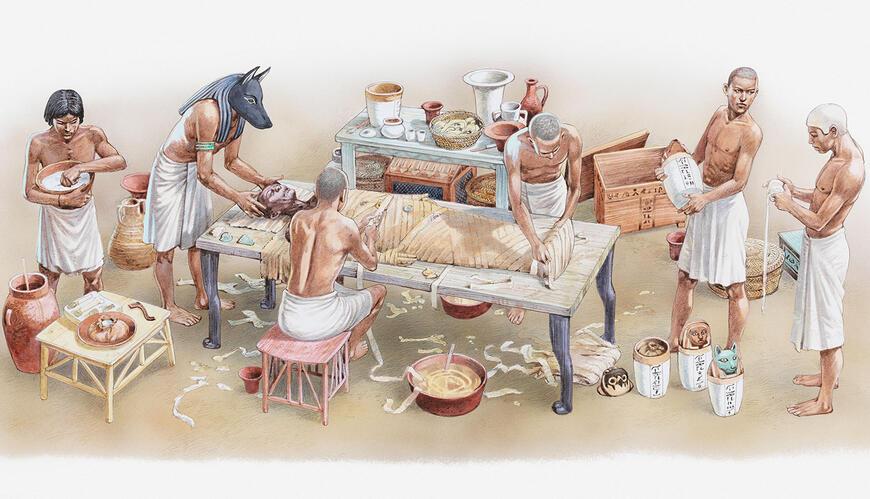 eski mısırlılarda mumyalama ile ilgili görsel sonucu