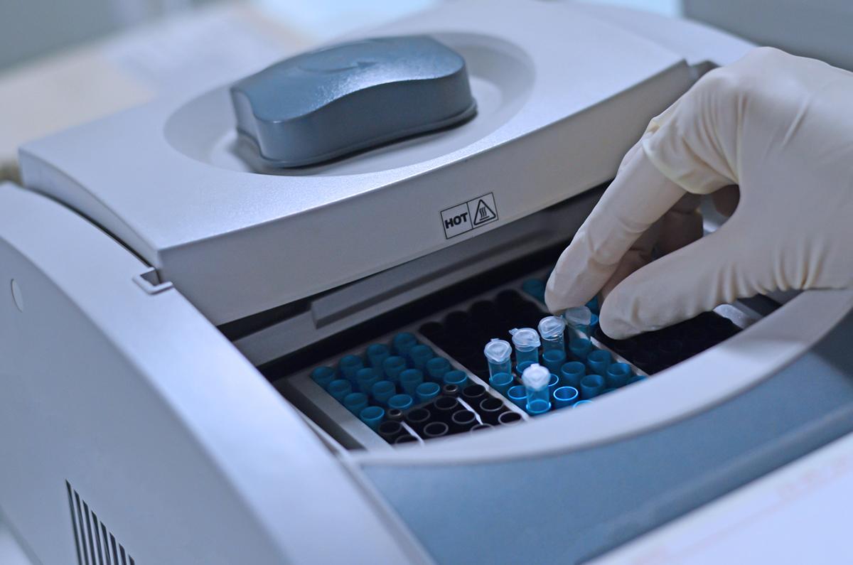 PCR'da kullanılan termal döngü cihazı