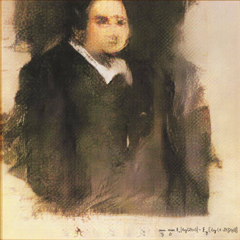 Edmond de Belamy'nin Portresi