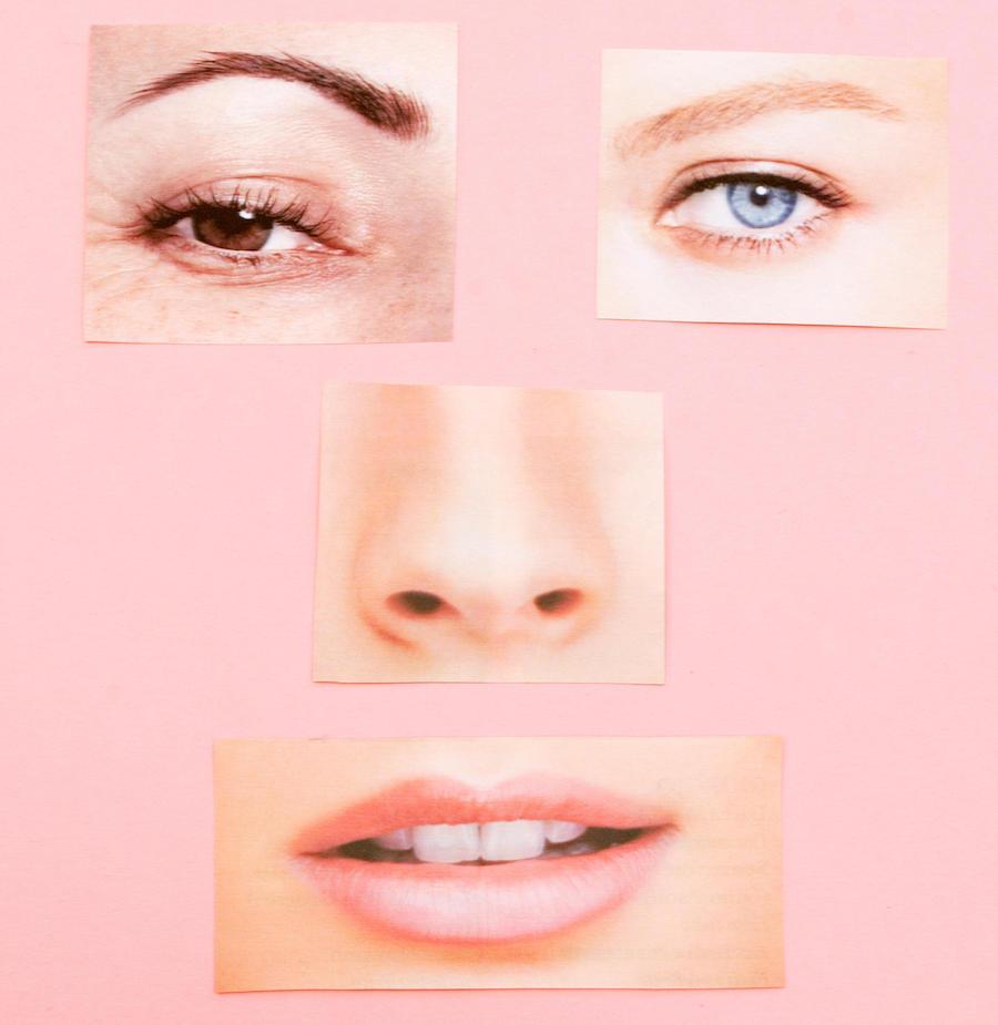 Yüz körlüğünde yüzü oluşturan farklı bölümler bütün şekilde algılanamaz.